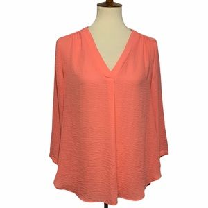 A.N.A V-Neck Loose Fitting Blouse